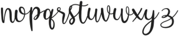 Hey Shanaya Regular otf (400) Font LOWERCASE