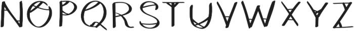 HeyBas otf (400) Font UPPERCASE