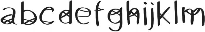 HeyBas otf (400) Font LOWERCASE