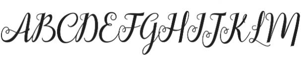 hellifa otf (400) Font UPPERCASE