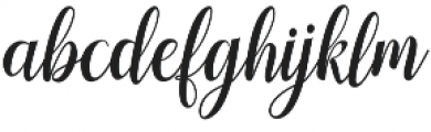 hellifa otf (400) Font LOWERCASE