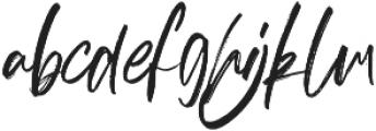 hereditary Alt otf (400) Font LOWERCASE