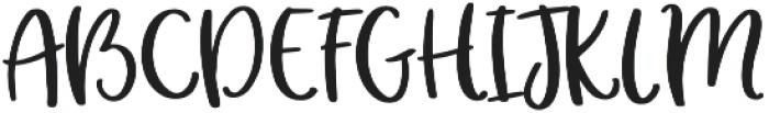 hey girl otf (400) Font UPPERCASE