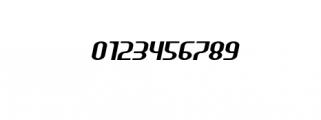 HEAVYwood Italic.otf Font OTHER CHARS