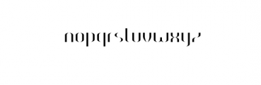HEAVYwood solid fill.otf Font LOWERCASE