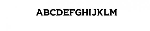 HEIDEN.otf Font UPPERCASE