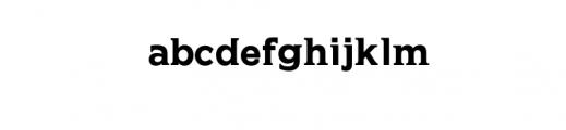 HEIDEN.otf Font LOWERCASE