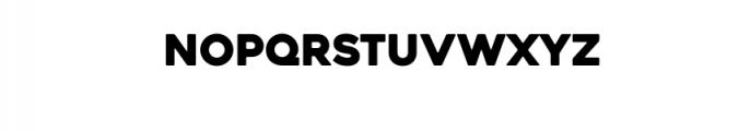 Heavitas Typeface Font UPPERCASE