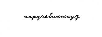 Herawati-Preview Font LOWERCASE