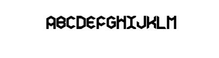 Hexagon Premium Font Font UPPERCASE