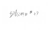 HeyFonallia-Handwritting.otf Font OTHER CHARS