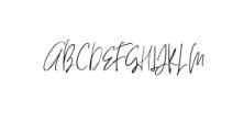 HeyFonallia-Handwritting.otf Font UPPERCASE