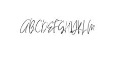 HeyFonallia-Handwritting.ttf Font UPPERCASE