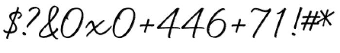 Head Turn Regular Font OTHER CHARS