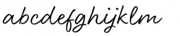 Head Turn Regular Font LOWERCASE