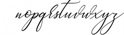 Heavenly Script 3 Font LOWERCASE