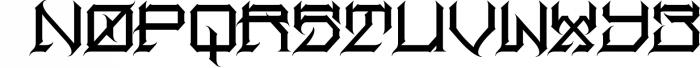 Herosin Font UPPERCASE