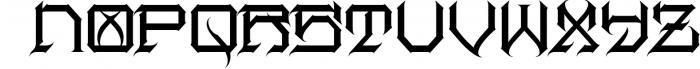 Herosin Font LOWERCASE