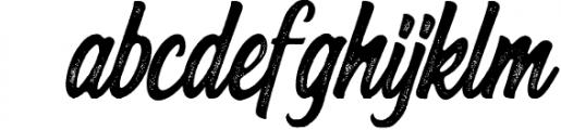 Hersley Typeface 1 Font LOWERCASE
