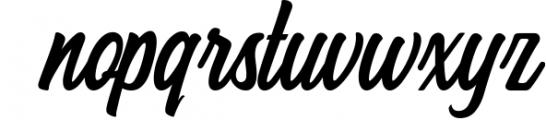 Hersley Typeface Font LOWERCASE