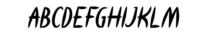 HEART SHAPED Bold Italic Font UPPERCASE