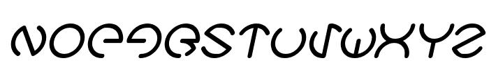 HEATHER THOMAS Italic Font UPPERCASE