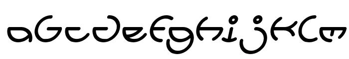 HEATHER THOMAS Italic Font LOWERCASE