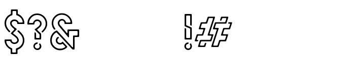 HELLO DENVER DISPLAY REGULAR Regular Font OTHER CHARS