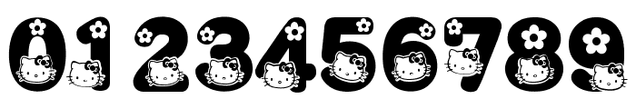 HELLO KITTY FONT Font OTHER CHARS