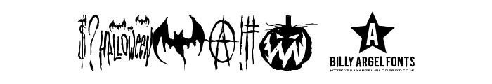 HELLO WEEN FONT Font OTHER CHARS