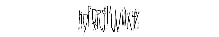 HELLO WEEN FONT Font LOWERCASE