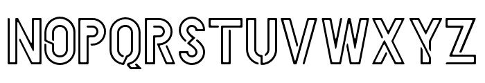 HELLODENVERDISPLAYREGULAR-Regular Font UPPERCASE