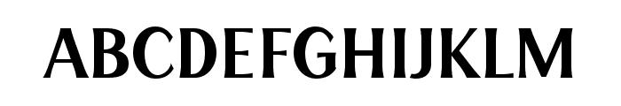HENAVE Regular Font UPPERCASE