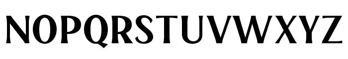 HENAVE Regular Font LOWERCASE
