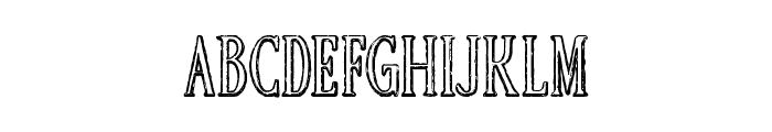 HERCULEVSGOLLIATH Font UPPERCASE