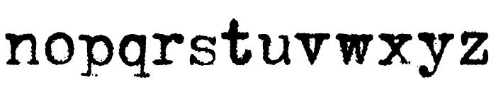 HERMES 1943 Font LOWERCASE