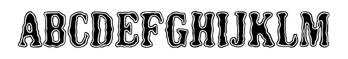 HERMES MANERO Font UPPERCASE