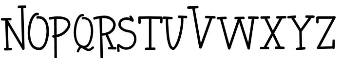 HERO KILLER Font LOWERCASE