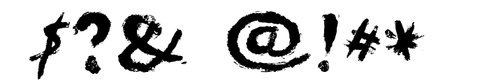 HEYROfun Font OTHER CHARS
