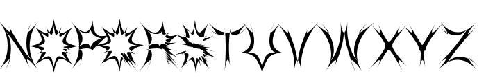 HEretica Font UPPERCASE