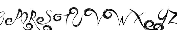 Head Case Font UPPERCASE