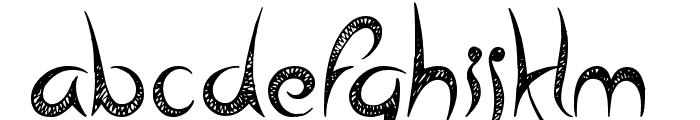 Head Case Font LOWERCASE