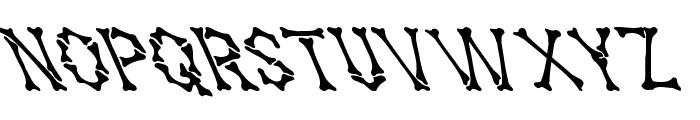 Headhunter Leftified For Death Medium Font LOWERCASE
