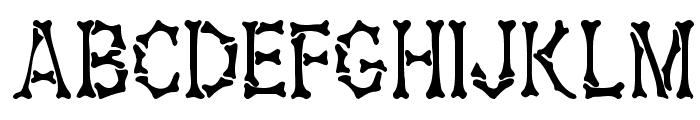 Headhunter Medium Font UPPERCASE