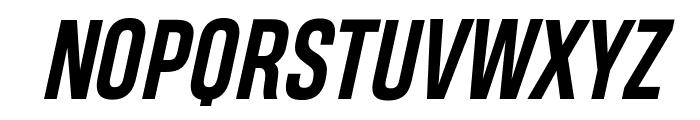 Heading Pro Trial Bold Italic Font UPPERCASE