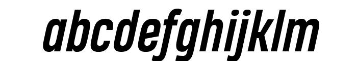 Heading Pro Trial Bold Italic Font LOWERCASE