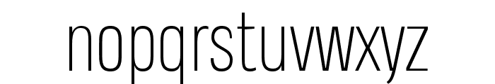 Heading Pro Trial ExtraLight Font LOWERCASE