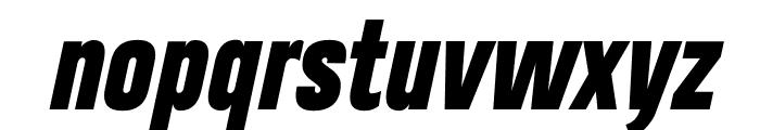 Heading Pro Trial Heavy Italic Font LOWERCASE