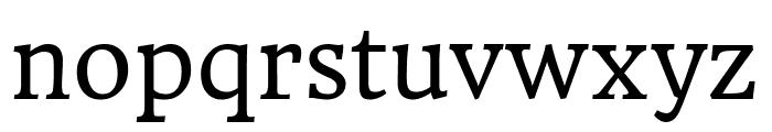 HeadlandOne-Regular Font LOWERCASE