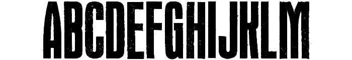 Headline Crack Font UPPERCASE